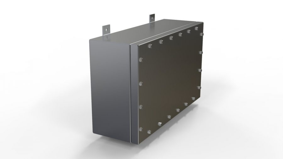 NEMA 6P | IP68 Submersible Stainless Steel Electrical Junction Box Enclosuretrical panel, IP68 Panel, NEMA Panel, NEMA 6P enclosure 316 stainless steel, IP68, SUBSEA, 30ft submersion, submersible enclosure, electrical enclosure, deep sea enclosures, rugged enclosure, waterproof enclosure, NEMA enclosure, stainless steel enclosure, stainless steel junction box, NEMA junction box, Waterproof electrical housing, NEMA 6P Housing, Pressure Vessel, SubSea Housing, SubSea Enclosure, Polyurethane Enclosure, Polyurethane Housing, Aluminum Enclosure, Aluminum NEMA 6P, Aluminum IP68, Deep Sea Enclosures, Offshore Enclosure, Storm Protection, Impact resistant Enclosure, MIL-STD-810, MIL-STD-285, EMC Enclosure, EMI enclosure, RFI enclosure, EMC shielding, EMI/RFI Enclosure, Enclosure Shock and Vibration, Defence Enclosure, Defense Enclosure, Defense Panel, Submersible Panel, Defense housing, underwater housing, underwater pressure vessel, SLAYSON