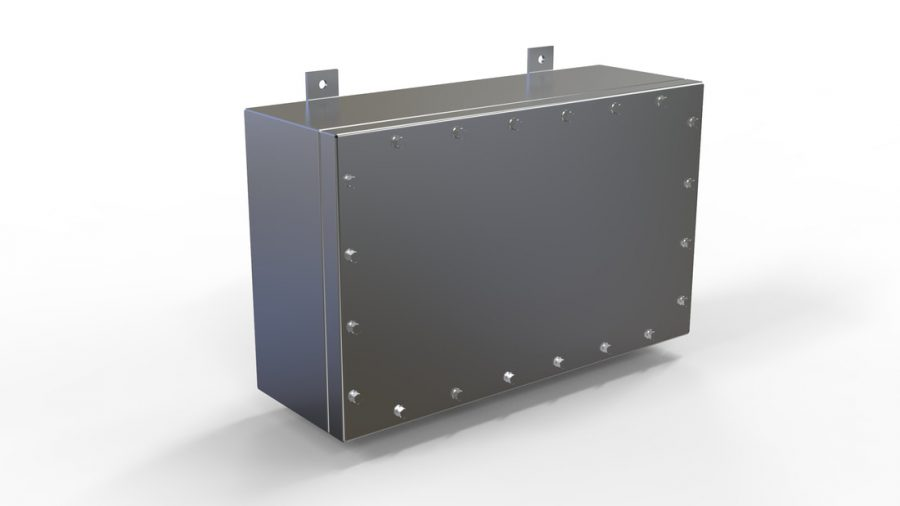 NEMA 6P | IP68 Submersible Stainless Steel Electrical Junction Box Enclosure
