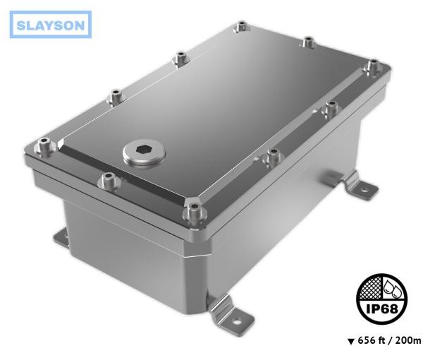 NEMA 6P / IP68 Submersible Battery / Junction Box - 656ft