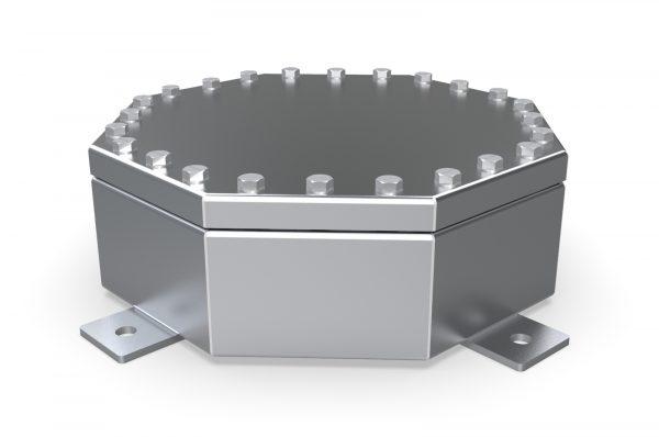 NEMA 6P / IP68 Octabox, enclosure, junction box, waterproof